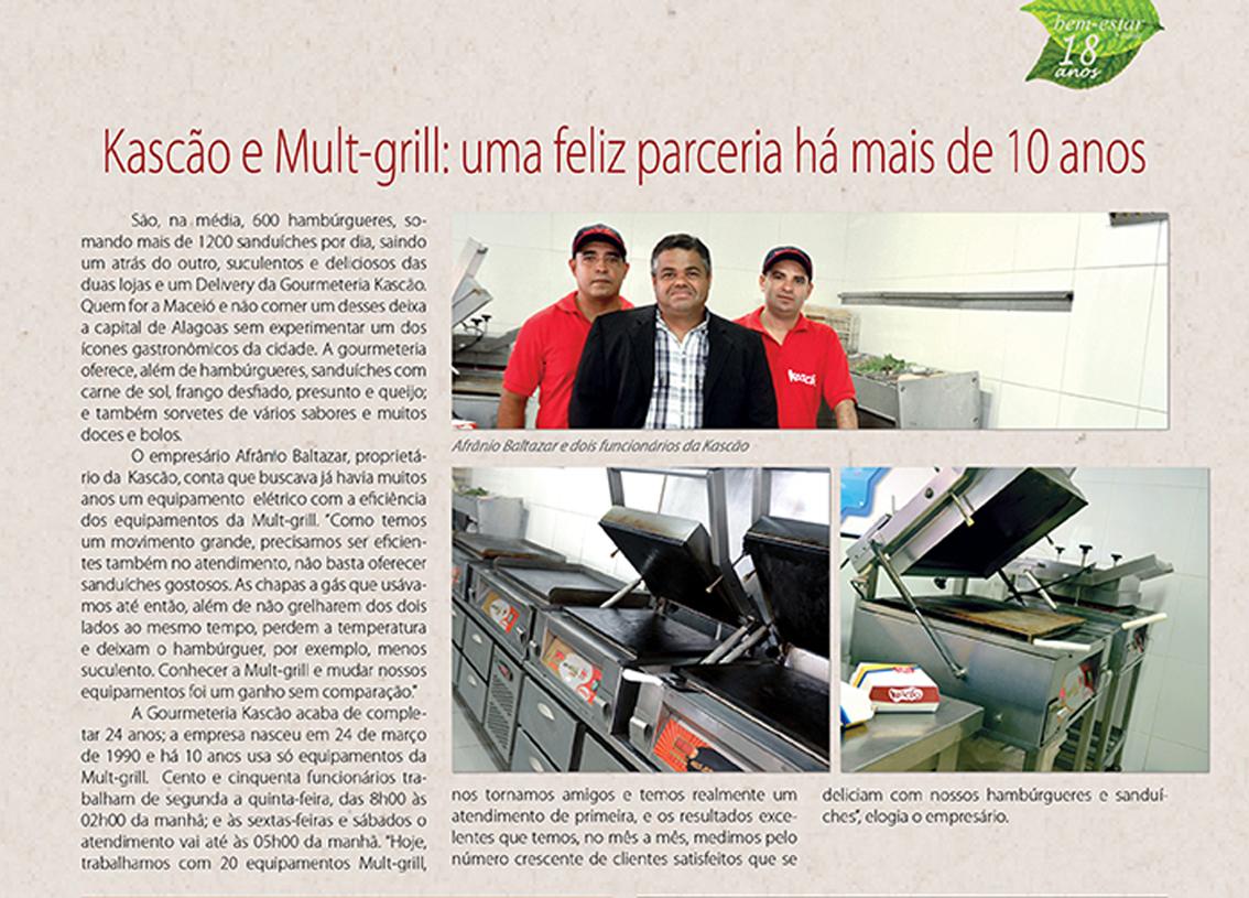 Matéria na revista Sucesso com nosso cliente, parceiro e amigo Afrânio do Kascão em Maceió – AL