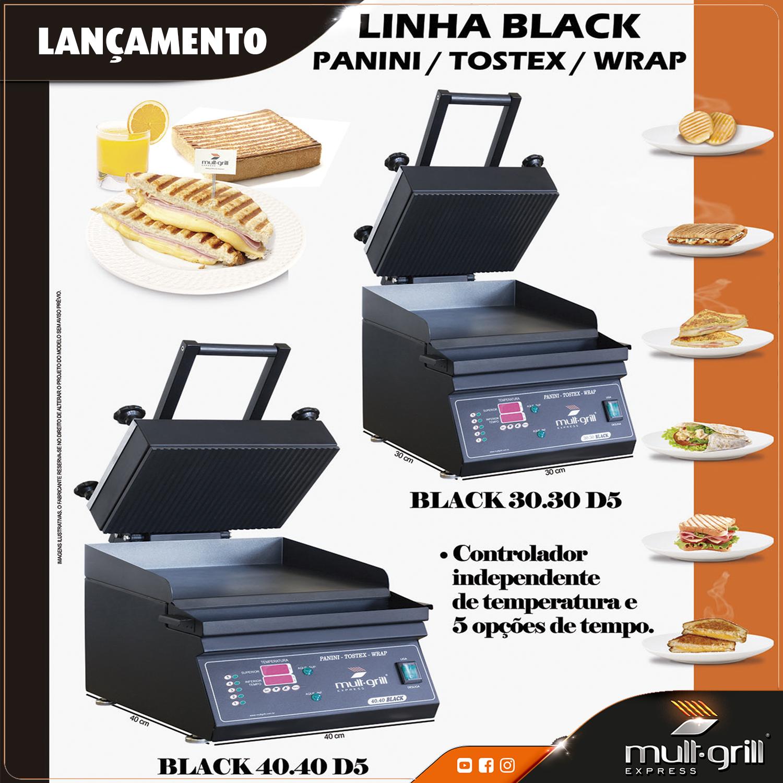 linha-black-panini-tostex-mult-grill-cafeteria-padaria